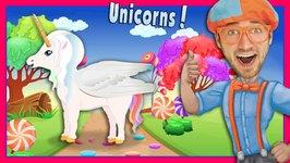 The Unicorn Song by Blippi