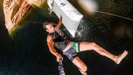 Cliff Jump Water Launch - 56 Feet - DEVINSUPERTRAMP