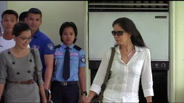 Maria Isabel Lopez airs her side on her use of Asean lane at LTO