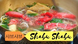 Korean Shabu-Shabu hotpot in Seoul, Korea