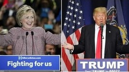 Trump & Clinton Take Northeast Primaries