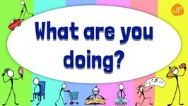 Present Continuous Verb Chant - What Are You doing? - Pattern Practice -1