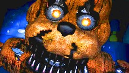 Five Nights at Freddy's 4 NIGHTMARE FREDDY JUMPSCARE