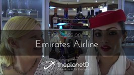 First Class Experience with Emirates Airlines