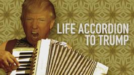 When you give Trump an accordion... THIS happens
