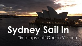 Sydney Sail In Queen Victoria Time Lapse Video