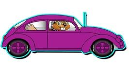 grandmas got a little purple car kids learn colors funny song teach children
