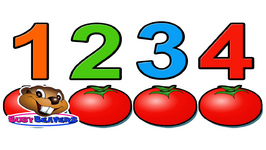 Counting Tomatoes - Counting for Kids - Learn English - Mathematics for Children