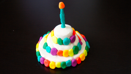Play Dough Birthday Cake