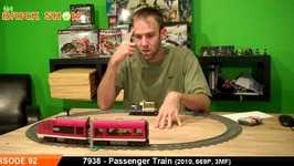 LEGO Passenger Train Review - LEGO City 7938
