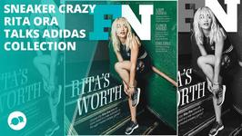 Rita Ora is sneaker crazy for Footwear News