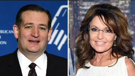 Sarah Palin Endorses Trump, Bristol Palin Trolls Ted Cruz