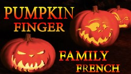 Pumpkin Finger Family In English  Halloween Songs For Kids  French Nursery Rhymes