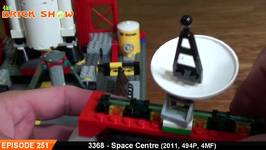 LEGO City Space Centre Review - LEGO 3368 Review