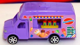 Children's Videos  Car Clown  Exploding Ice Cream  Van Kid's Funny Cartoon