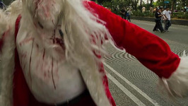 Man Breaks into Home Dressed as Zombie Santa, Scares Teens