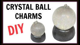 Crystal Ball Charms  DIY Project  Halloween Craft  Craft Klatch  Resin Jewelry  How To