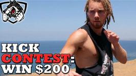 Kick Contest - Win 200 To MMAWarehouse.com