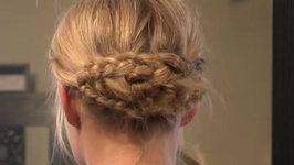 Taylor Swift's Grammy Hair - Boho Inspired Updo