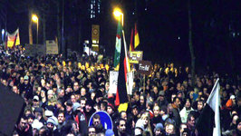 15,000 join Anti-Islam Protest in Germany