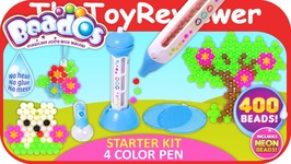 Beados Starter Kit 4 Color Pen Unboxing Toy Review