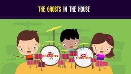 Ghosts in the House Song for Kids - Haunted House Halloween Songs for Children