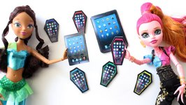 How To Make A Doll Tablet - Doll Crafts