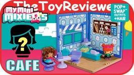 My Mini MixieQ's Cafe - Bakery Mini Room Playset Unboxing Toy Review