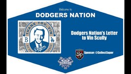 Dodgers Nation Letter To Vin Scully