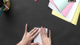 Origami - Origami in Gujarati - Heart Book Mark