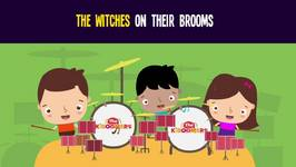 Witch Song for Kids - Witches on the Brooms Song for Halloween