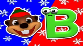 Beavers at Christmas Time - Alphabet Song - Carols for Children - Merry Christmas - Kindergarten
