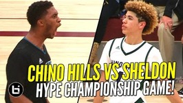 Ball Brothers vs Duplechan Brothers Chino Hills vs Sheldon Hype Championship Game Full Highlights