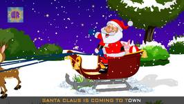 Santa Claus Is Coming To Town  Christmas Carol  World Rhymes
