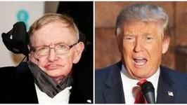 Stephen Hawking Slams Trump North Korea Supports Donald