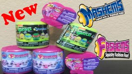 TMNT Mashems and Littlest Pet Shop Fashems