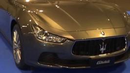 Maserati Ghibli at Madrid Motor Show 2014