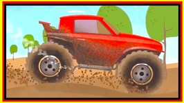 Clean A Cartoon SUV (Suburban Utility Vehicle) Doc McWheelie - Children's Car Cartoons