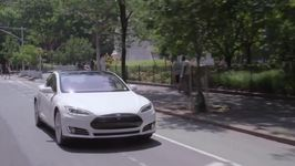 Tesla Model S - New York Driving Video