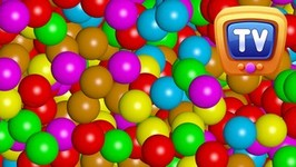 Magical Surprise Eggs Ball Pit Show  Learn Colours And Shapes  ChuChu TV Surprise Fun