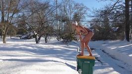 Snow Diving Fail