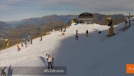 Drones Take Epic Pics of New Zealand Ski Vacation