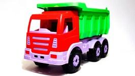 Car Clown And The Monster Lego Building Blocks Truck  Children's Videos