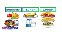 Breakfast, Lunch, Dinner - Level 2 English Lesson 16 - Kids Food - English Words - Meals