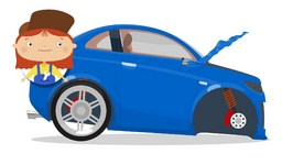 NAUGHTY CARS CRASH - Doc McWheelie Cartoons For Kids