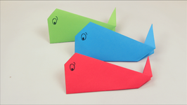 Origami Whale