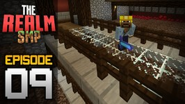 Realms Multiplayer Survival Ep  9 - Huge Automatic Nether Wart Farm-  Minecraft PE- Pocket Edition