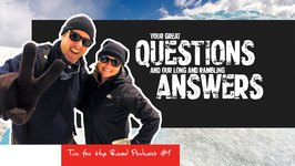 Two for the Road Podcast No. 1 - Who Are We? And More of Your Questions