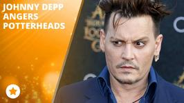 Johnny Depp's secret role has Potter fans upset