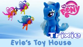 My Little Pony Trixie Lulamoon And Friendship Flutters Unboxing and Review